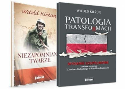 Niezapomniane twarze + CD Pakiet - Witold Kieżun   okładka