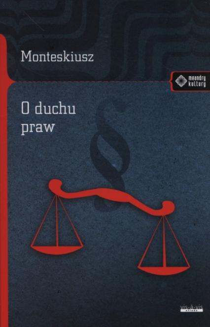 O duchu praw - Monteskiusz   okładka