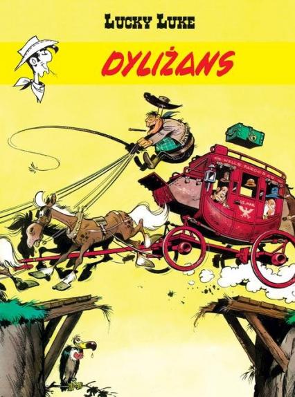 Lucky Luke Dyliżans - Rene Goscinny | okładka