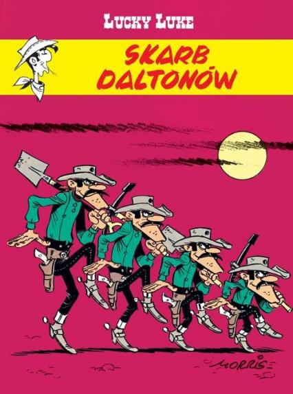 Lucky Luke Skarb Daltonów - Rene Goscinny | okładka
