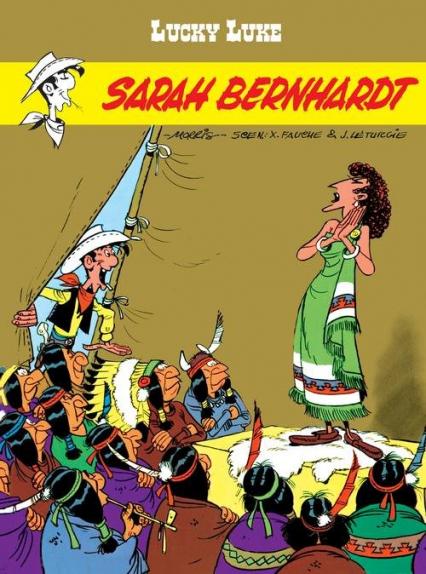 Lucky Luke Sarah Bernhardt - Fauche Xavier, Leturgie Jean | okładka