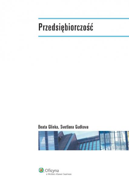 Przedsiębiorczość - Glinka Beata, Gudkova Svetlana | okładka