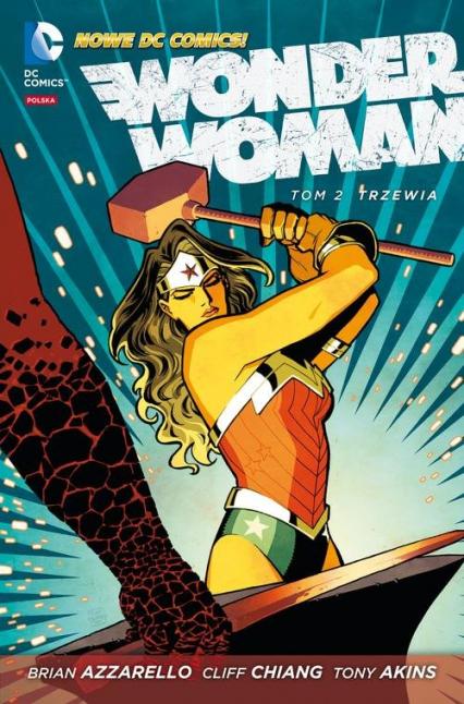 Wonder Woman Trzewia Tom 2 - Brian Azzarello | okładka