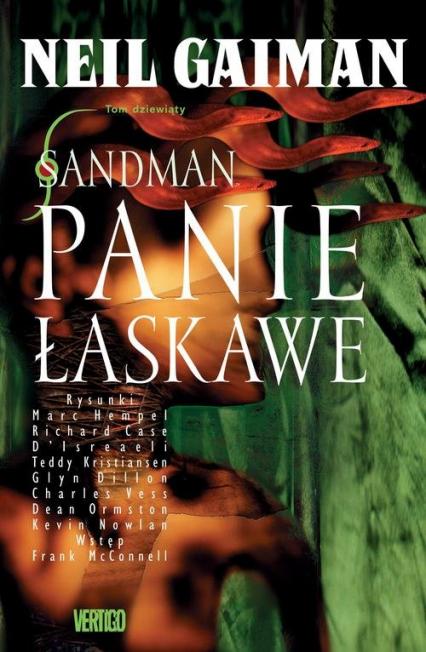 Sandman Panie Łaskawe - Neil Gaiman | okładka