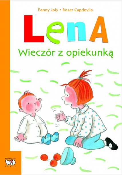 Lena Wieczór z opiekunką - Fanny Joly | okładka