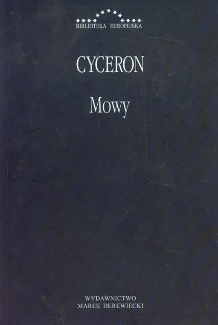 Mowy - Cyceron Marek Tulliusz | okładka