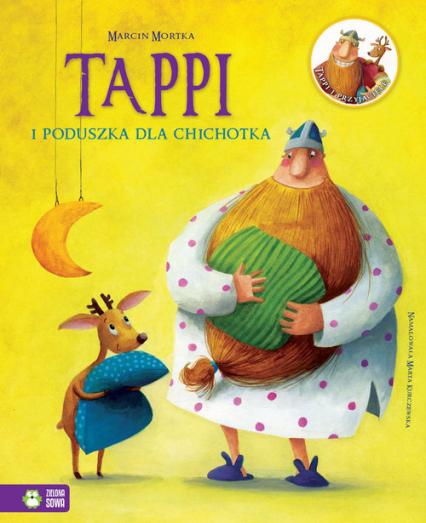 Tappi i poduszka dla Chichotka - Marcin Mortka | okładka
