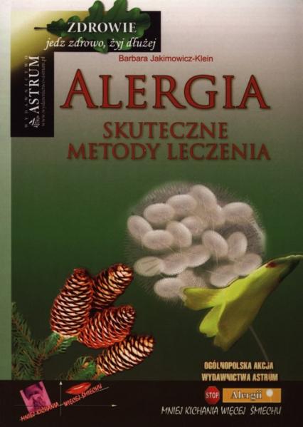 Alergia Skuteczne metody leczenia - Barbara Jakimowicz-Klein | okładka