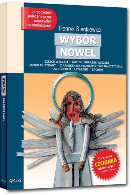 Nowele Lektura z opracowaniem - Henryk Sienkiewicz   okładka