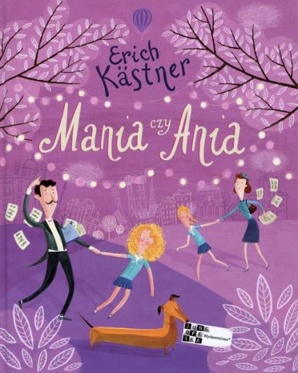 Mania czy Ania - Erich Kastner | okładka