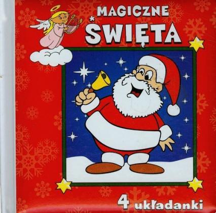 Magiczne Święta 4 układanki - Urszula Kozłowska | okładka