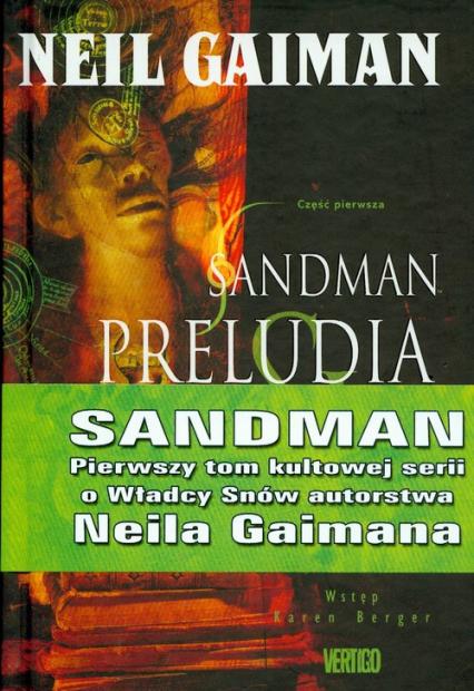 Sandman Preludia i nokturny Tom 1 - Neil Gaiman   okładka