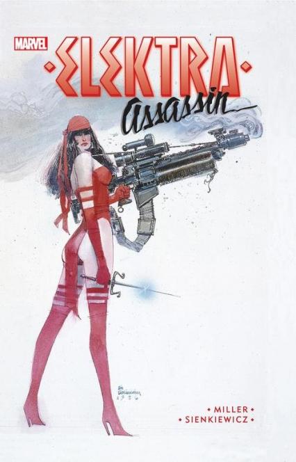 Elektra - Assassin - Frank Miller | okładka