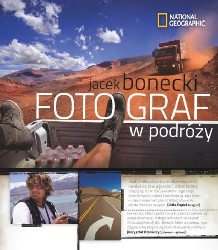 Fotograf w podróży - Jacek Bonecki | okładka