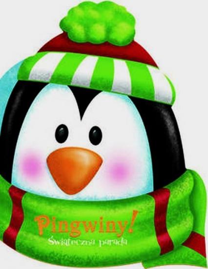 Pingwiny Świąteczna parada - zbiorowa praca | okładka