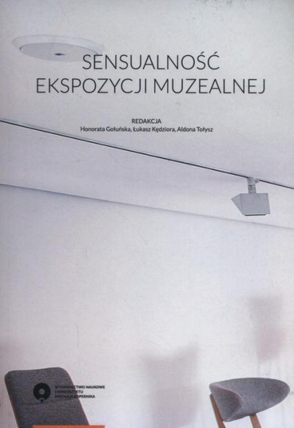 Sensualność ekspozycji muzealnej -    okładka