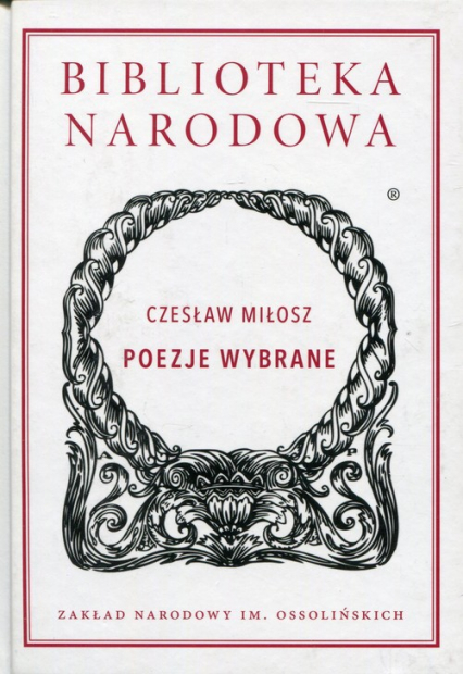 Poezje wybrane - Czesław Miłosz | okładka