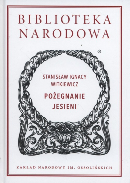 Pożegnanie jesieni - Witkiewicz Stanisław Ignacy | okładka