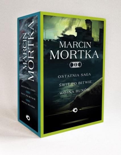 Trylogia nordycka Ostatnia saga / Świt po bitwie / Wojna runów Tom 1-3 Pakiet - Marcin Mortka | okładka