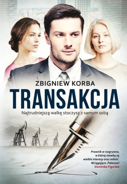 Transakcja - Zbigniew Korba | okładka