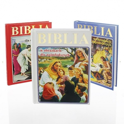 Biblia w obrazkach dla najmłodszych -    okładka