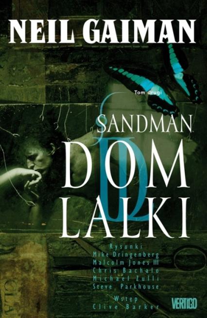 Sandman Tom 2 Dom lalki - Neil Gaiman | okładka