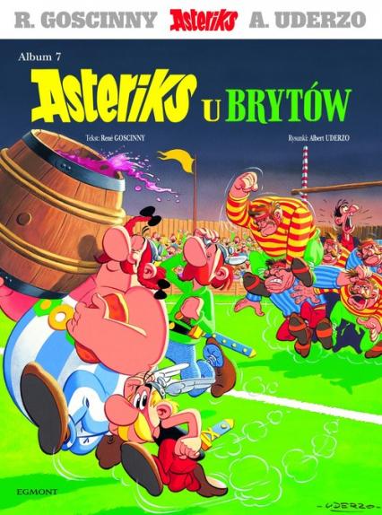 Asteriks u Brytów - Rene Goscinny | okładka