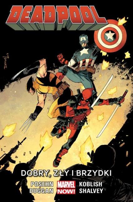 Deadpool: Dobry, zły i brzydki Tom 3 - Posehn Brian, Duggan Gerry | okładka