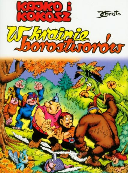Kajko i Kokosz W krainie Borostworów - Janusz Christa | okładka
