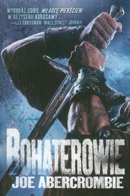 Bohaterowie - Joe Abercrombie | okładka