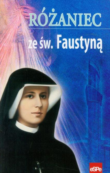 Różaniec ze św. Faustyną -  | okładka