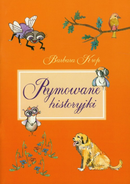 Rymowane historyjki - Barbara Krop | okładka