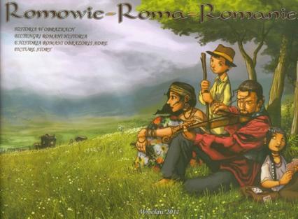 Romowie Roma Romanies - Różycka Małgorzata, Balkowski Janusz | okładka