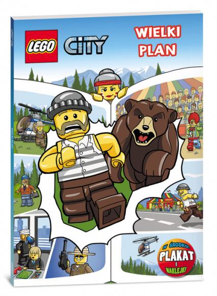 Lego City Wielki plan -    okładka