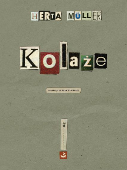 Kolaże - Herta Müller | okładka
