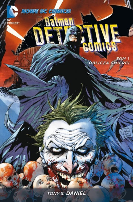 Batman Detective Comics Tom 1 Oblicza śmierci -  | okładka
