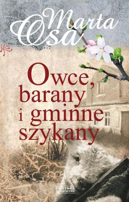 Owce barany i gminne szykany - Marta Osa   okładka