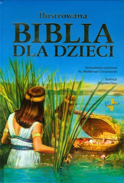 Ilustrowana Biblia dla dzieci -  | okładka