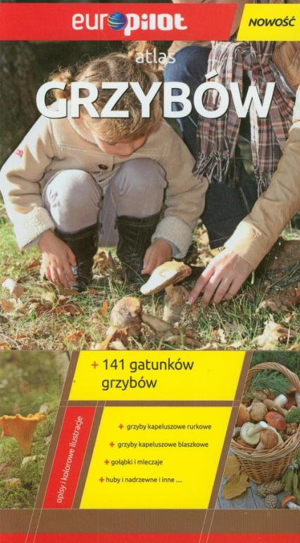 Atlas grzybów - Marek Snowarski | okładka