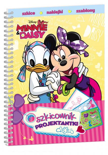 Minnie i Daisy Szkicownik projektantki -  | okładka