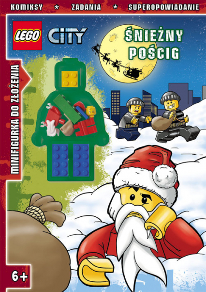 Lego City Śnieżny pościg LMJ4 -    okładka