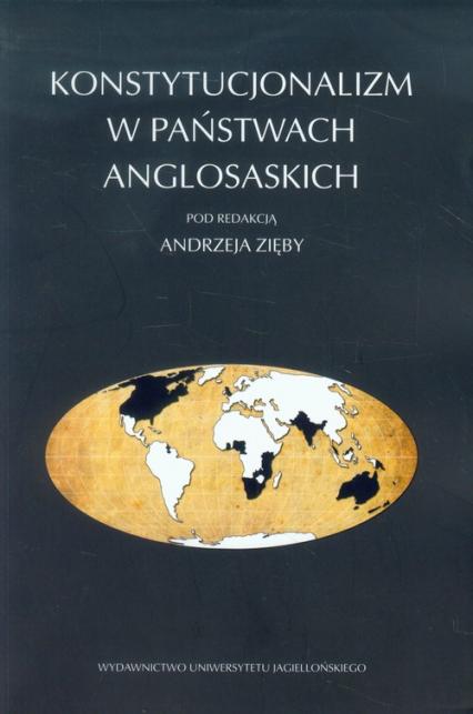 Konstytucjonalizm w państwach anglosaskich -  | okładka