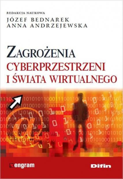 Zagrożenia cyberprzestrzeni i świata wirtualnego -  | okładka