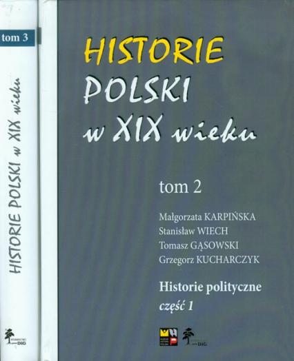 Historie Polski w XIX wieku Tom 2-3 -  | okładka