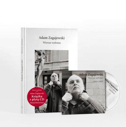 Wiersze wybrane + CD - Adam Zagajewski | okładka