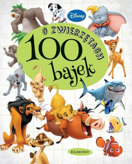 100 bajek o zwierzętach -  | okładka