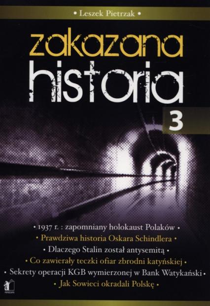 Zakazana historia 3 - Leszek Pietrzak | okładka