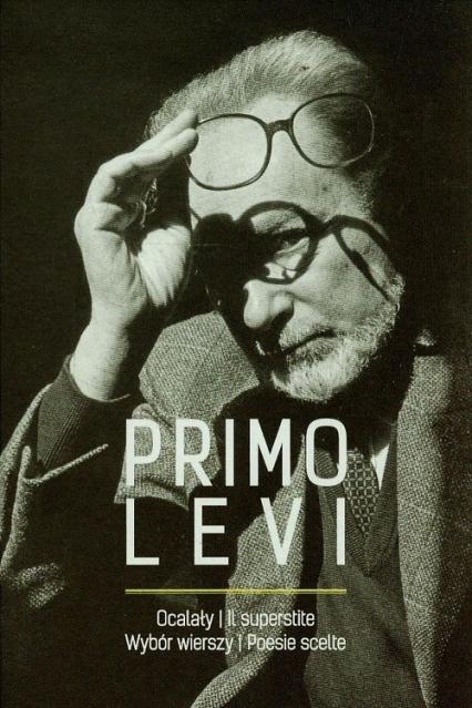 Ocalały Wybór wierszy - Primo Levi | okładka