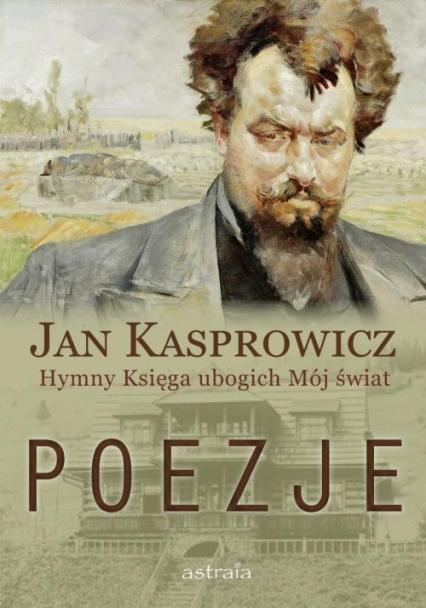 Poezje - Jan Kasprowicz | okładka