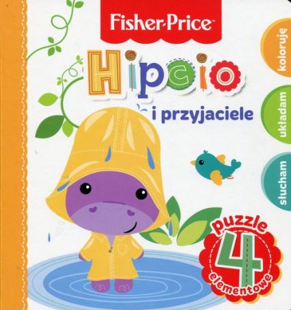 Fisher Price Puzzle Hipcio i przyjaciele - Anna Wiśniewska | okładka
